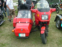 automobile, scooter, vehicle, motorcycle, sidecar, land vehicle,