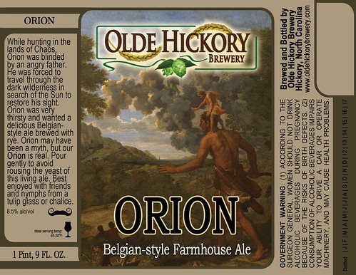 Orion label