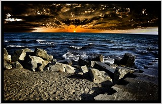 Lake Ontario at Sunset ~ Toronto