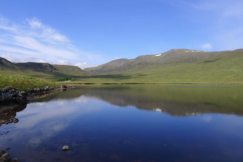 Chno Dearg above Loch Ghuilbinn