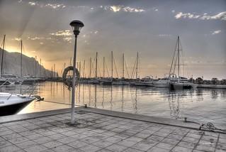 Amanecer (Puerto de Aguadulce)
