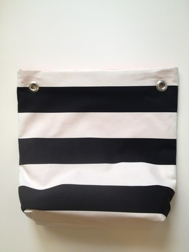 Stripe + Color Tote 13