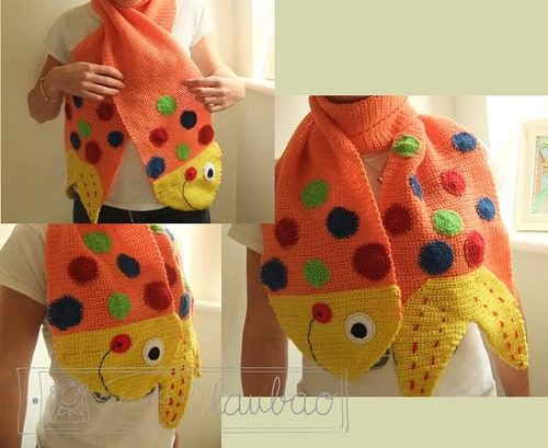 Fishy Scarf
