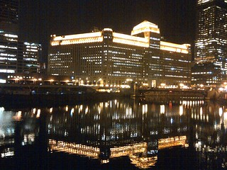 Merchandise Mart, Reflected in the Chicago River