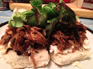 Pulled Pork : Serve in Baps