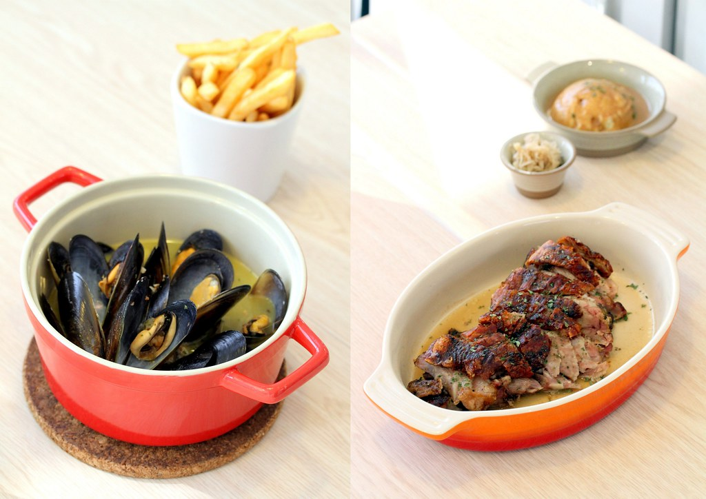 JEM Food Trail: Ambush's Mussel Pot & Roasted Pork Knuckle