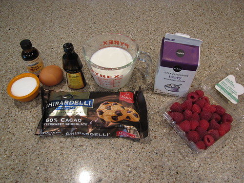 Chocolate Pot de Creme Ingredients