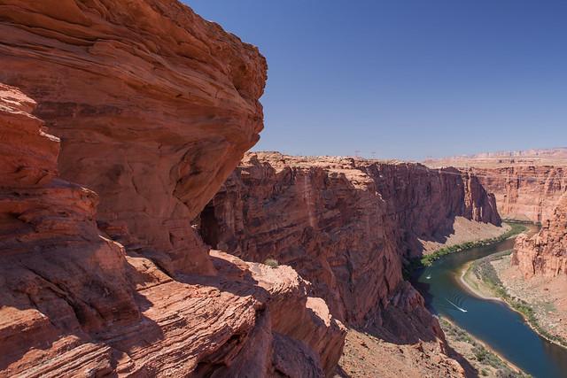 Colorado River, Glen Canyon Dam Overlook