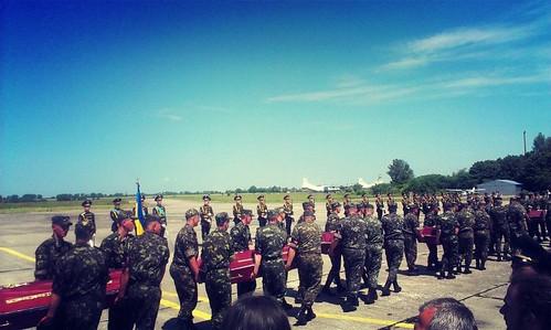 «Вантаж 200»: на полігоні прощалися з 17 загиблими військовослужбовцями
