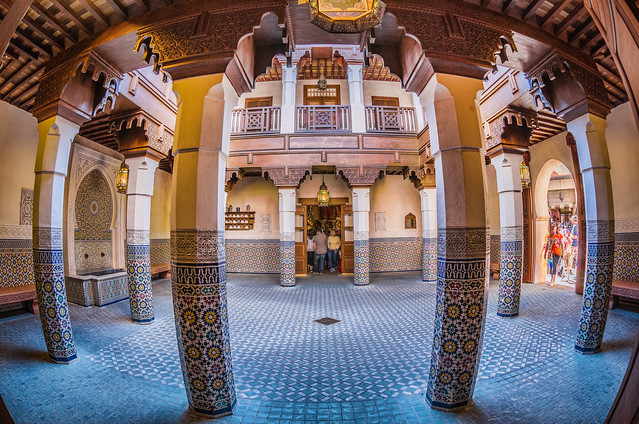 EPCOT:  Welcome to Morocco