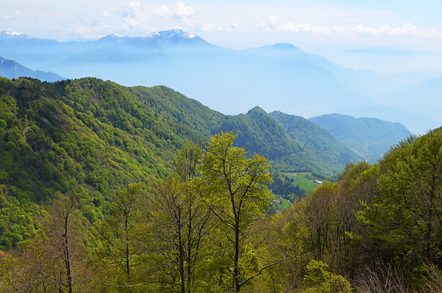View fro Rifugio Pernici, Lake Ledro, Italy