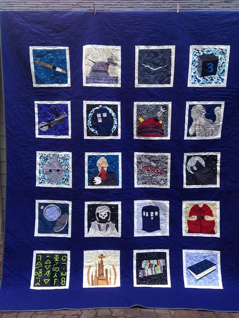 Doctor who along quilt is complete!