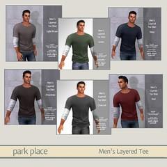 [PP Casuals] Men's Layered Tee Gacha