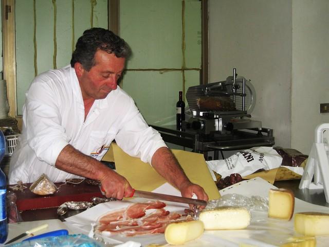Fusciani salumi e formaggi, Apecchio, Le Marche