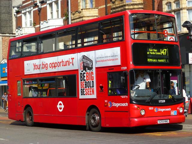 stagecoach london alexander dennis 400 17259 flickr photo sharing. Black Bedroom Furniture Sets. Home Design Ideas
