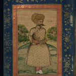 Album of Persian and Indian calligraphy and paintings, Portrait of Shāh Sulaymān, Walters Manuscript W.668, fol.5a