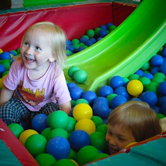 child(1.0), play(1.0), ball pit(1.0), toddler(1.0), toy(1.0),