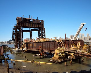 Rehabilitation of the 69th Street Transfer Bridge, Hudson River, New York City