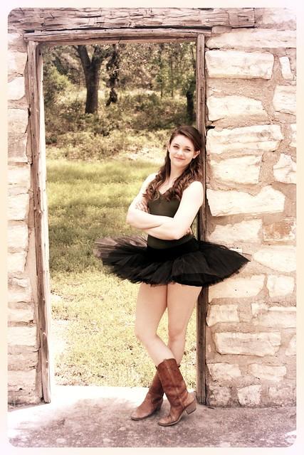 Ballet doorway cowboy boots