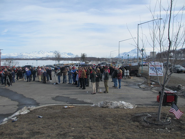 Tea Party Tax Day 2012 - Wasilla Alaska