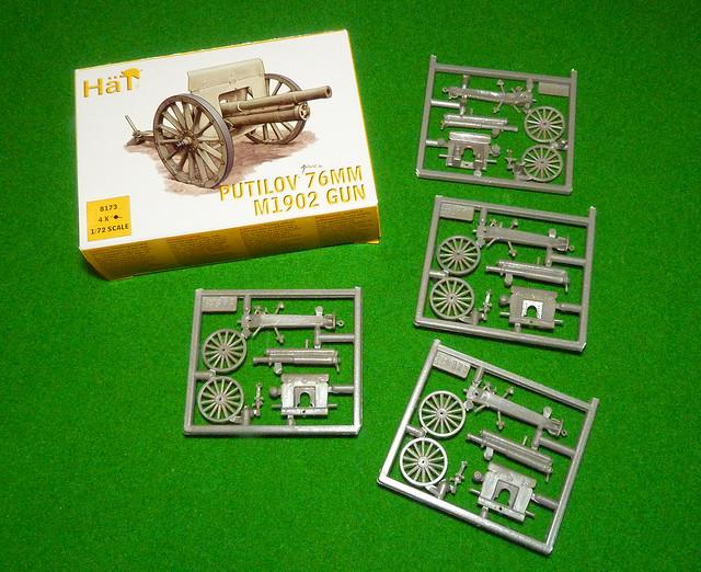 HaT 1/72 Putilov 76mm M1902 Gun