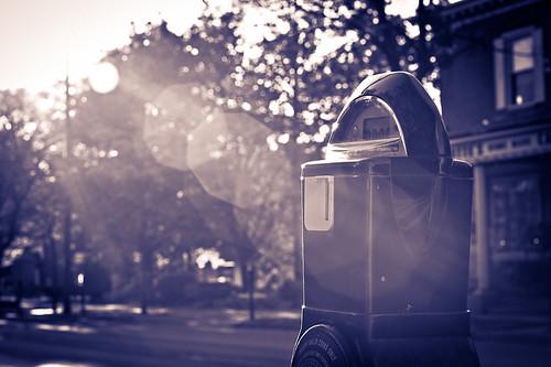 street nikon dof 85mm flare burnout parkingmeter sunflare timelimit d700 nikond700 troyhoodimages tehimages