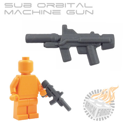 Sub Orbital Machine Gun - Dark Blueish Gray