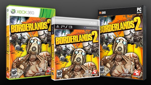Take a Look at Borderlands 2's Box-Art and Special Editions