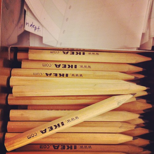 140/366 :: Ikea pencils