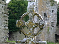 Ballyboggin Abbey graveyard