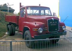 MAN 635 Kipper 1963 red vr