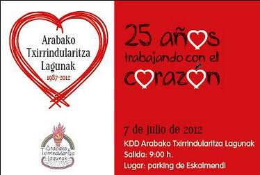 KDD 25 años Arabako Txirrindularitza EPS Campagnolo