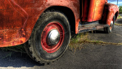 Rusty, Crusty, and Dusty Ford Pickup in HDR