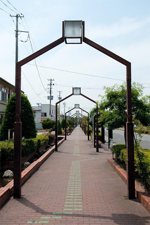 小牛田駅の風景