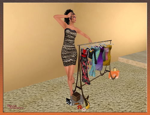 :: PM :: Cheetah Tube Dress [MESH] - group gift by Dyana Serenity