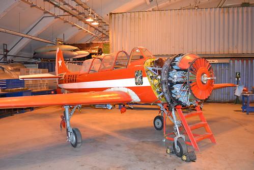 G-BXAV Yakovlev Yak-52