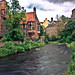 Well Court/Water of Leith