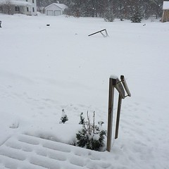Really? Several inches of fresh snow? Not cool, Mother Nature, not cool. http://ift.tt/1loxvZj