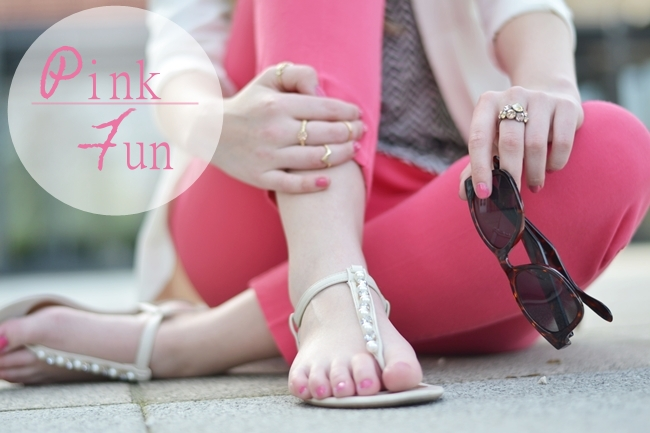 Outfit Pink fun Banner