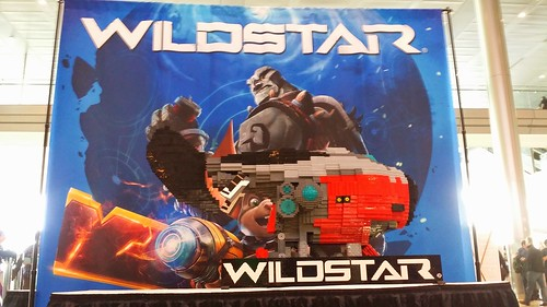 WildStar Model at PAX East 1