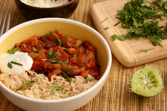 mexican rice and beans 6