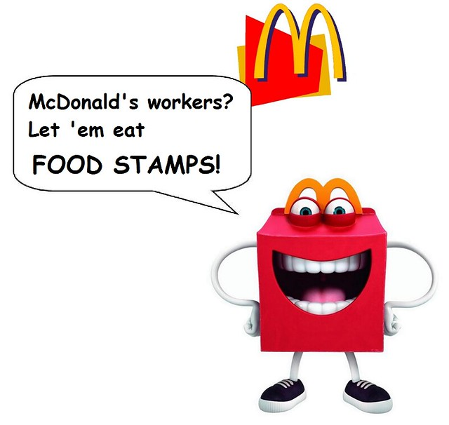 McDonald's: New Logo, Same Old Low Wages