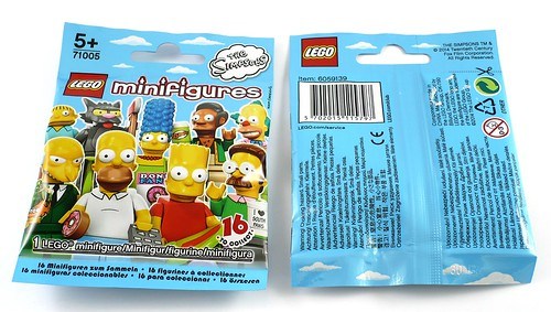 71005 LEGO Minifigures The LEGO Simpsons Series pack