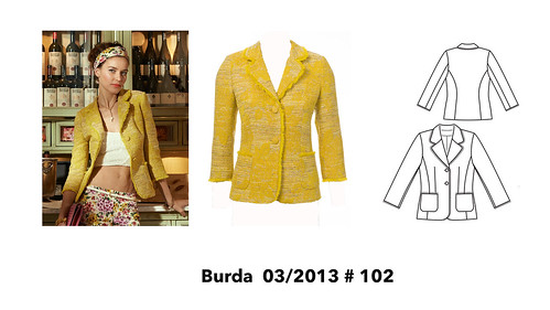 Burda jacket possibility