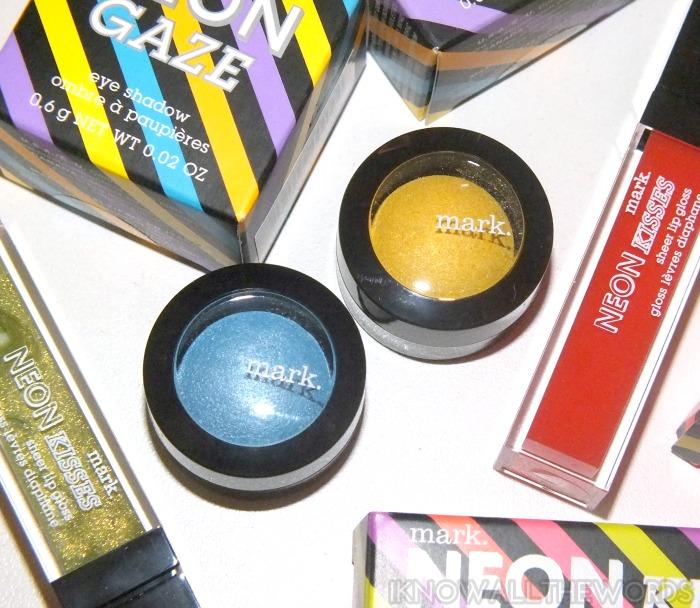 mark. neon gaze eyeshadow- neon gaze and sun flash (1)