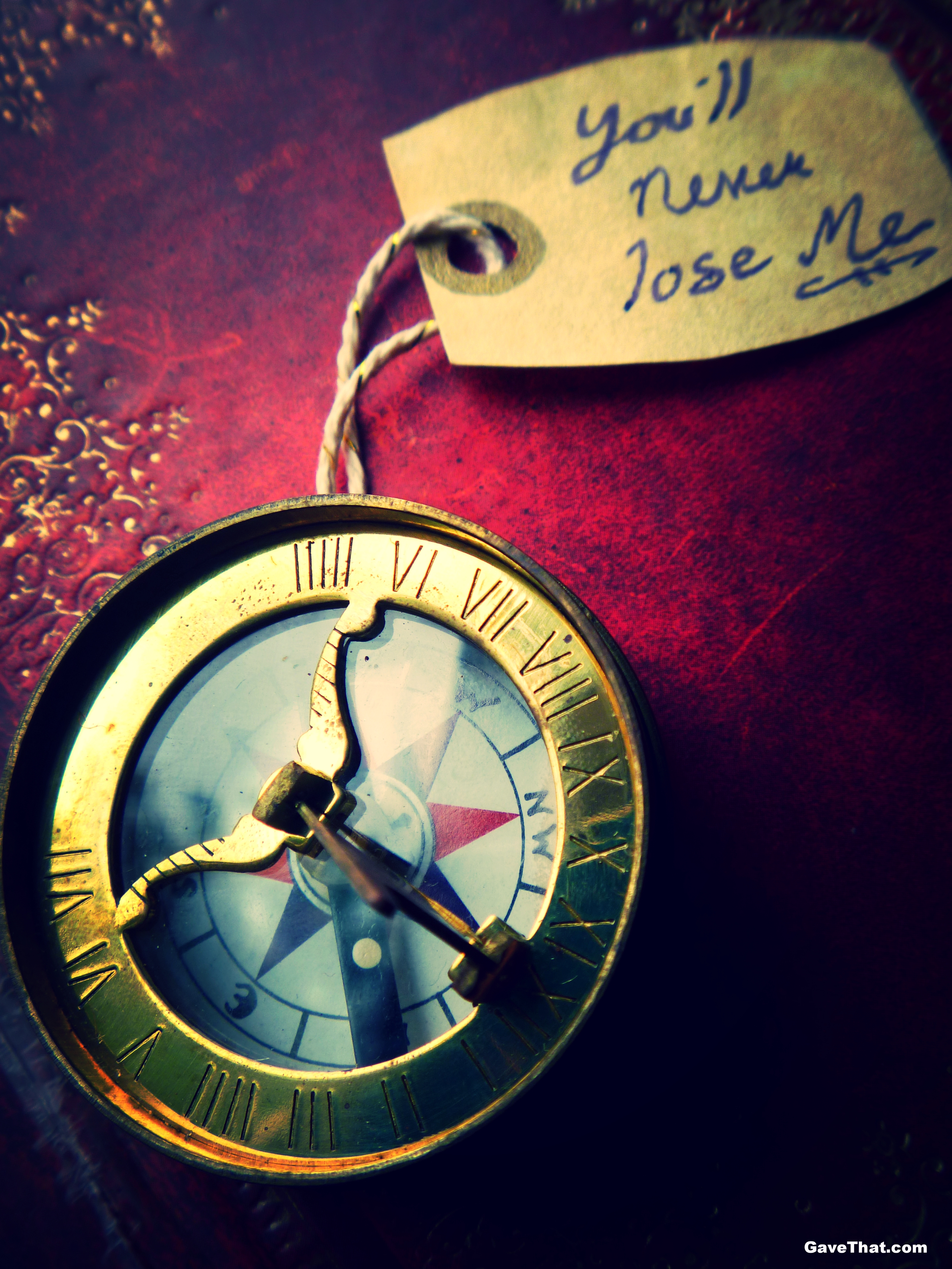 Love Token Compass Gift