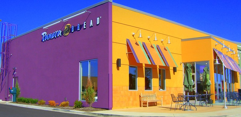 A colorful Panera Bread in Kentucky