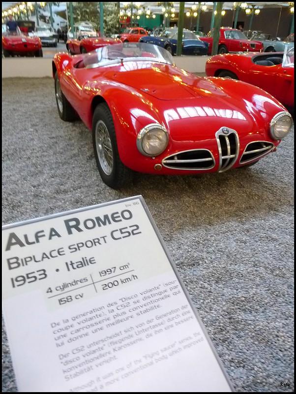 Alfa Roméo Biplace Sport C52 - 1953