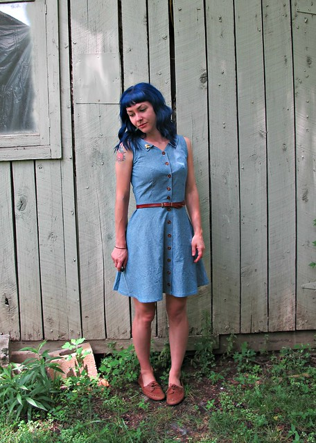 Chambray Colette Hawthorn