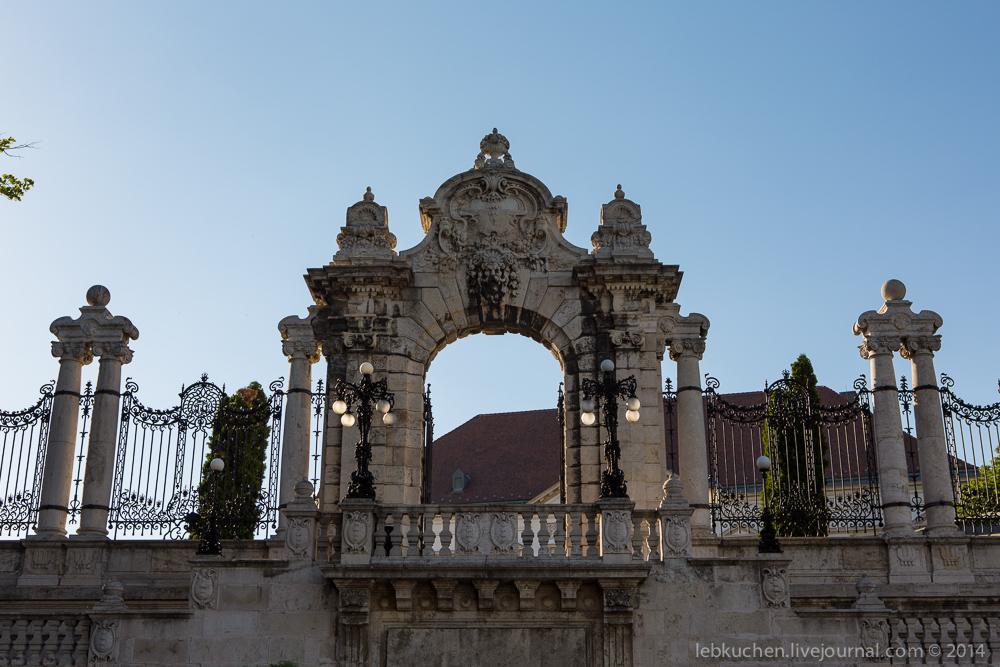 Прогулка по Будапешту. Замок Буда